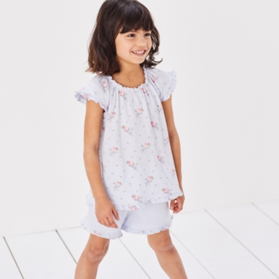 Floral & Stripe Mix Pyjamas (1-12yrs)
