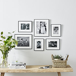 Fine Black Small Picture Gallery Wall Set