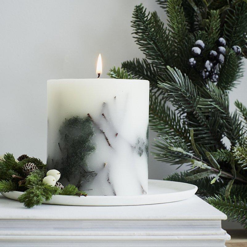 White Company Fir Tree Candle