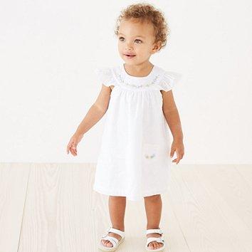 7e169ce3e Baby Girls | Clothing & Sleepwear | The Little White Company UK