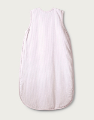 Floral Embroidered Seersucker Sleeping Bag – 0.5 Tog