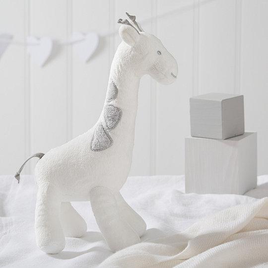 Georgia Giraffe Squeak Toy Newborn Toys The White Company Uk