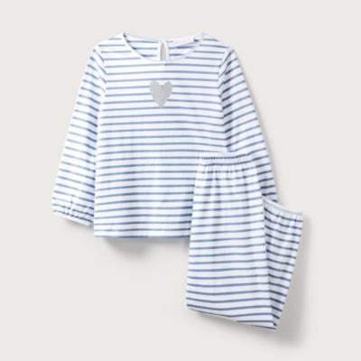 Glitter Heart Pyjamas (1-12yrs)