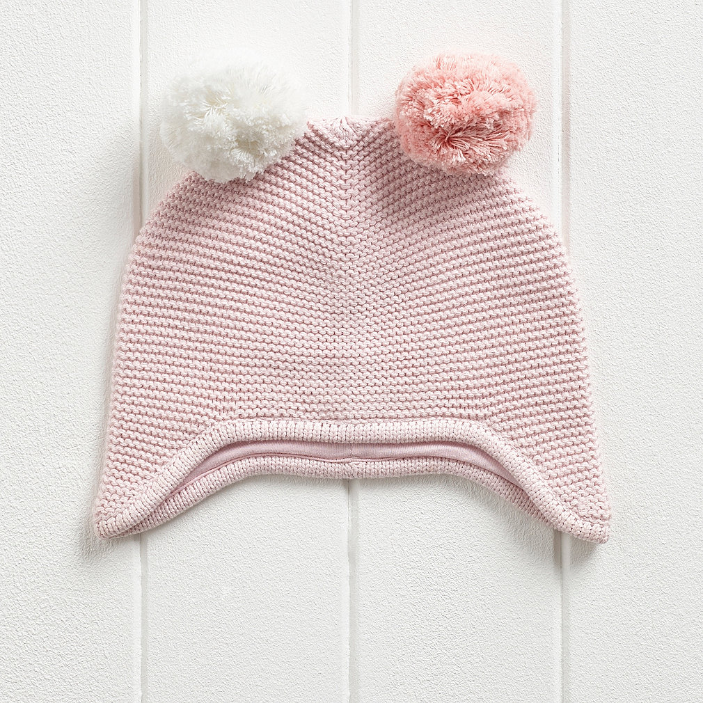 ae1564bf740 Girls Contrast Pom Pom Hat. Press to zoom. Swipe for more images.