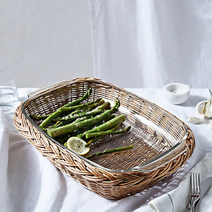 Glass & Willow Oven Dish Large