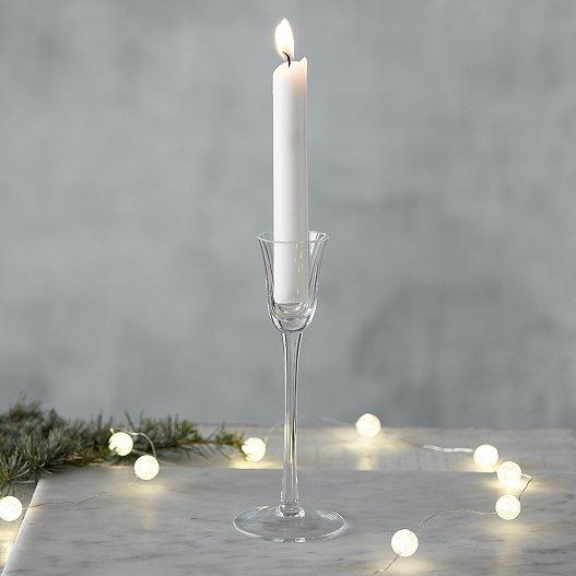 Gl Dinner Candlestick Holder