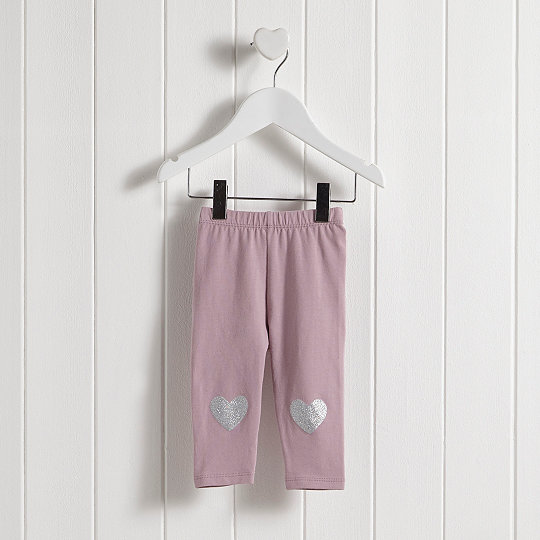 5a5a77a92 Added to bag. Checkout. Continue shopping. The White Company · Sale · Baby  Clothing Sale; Glitter Heart Leggings