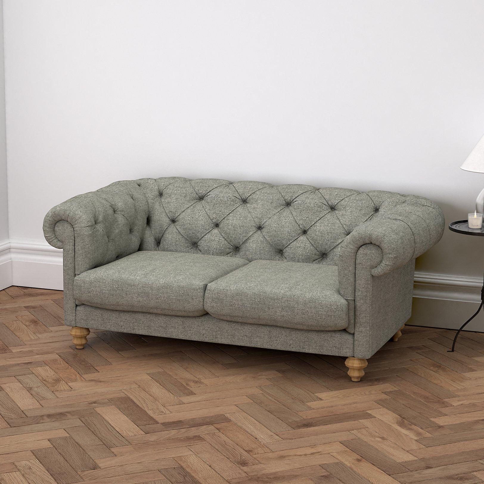 Light grey tweed sofa mjob blog for The sofa company