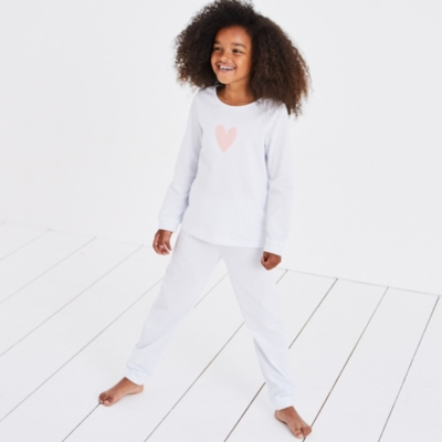 Heart Stripe Pyjamas (1-12yrs)