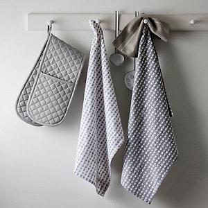 Heart Print Tea Towel – Set of 2