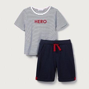5f34396a9 Hero T-Shirt   Short Set (1-6yrs)
