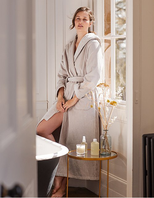 Robes | Silk & Cashmere Dressing Gown | The White Company US