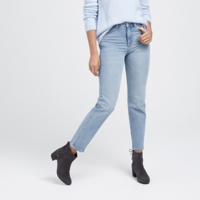 Kingston Straight Leg Cropped Jeans
