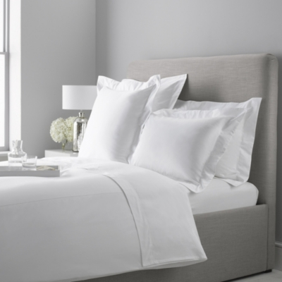Lancaster Oxford Pillowcase - White