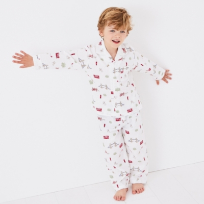 London Bus Pyjamas (1-12yrs)