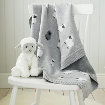 Little Sheep Baby Blanket