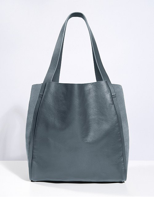b68ded2c231e Leather Suede Tote Bag