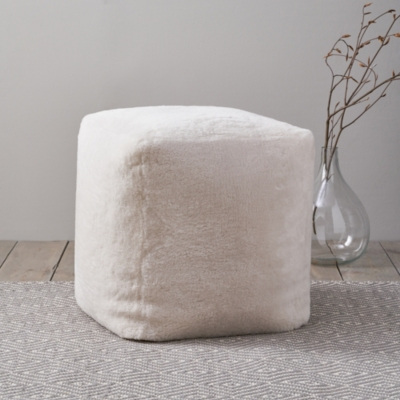 Luxury Shorthair Sheepskin Cube