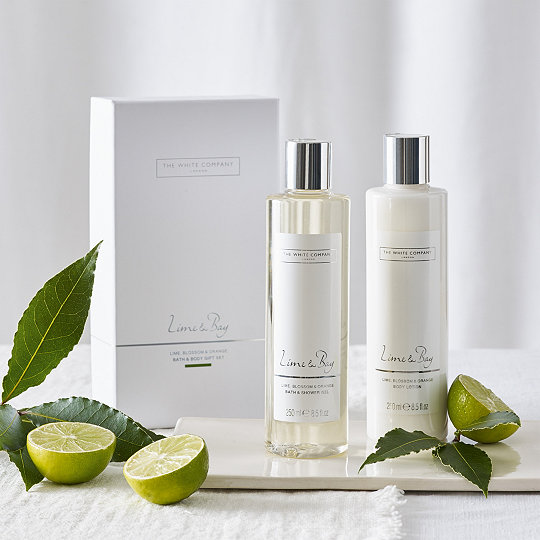 Added to bag  sc 1 st  The White Company & Lime u0026 Bay Bath u0026 Body Gift Set | Gift Sets | The White Company UK