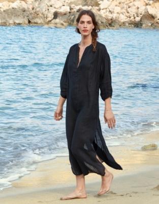 7f9daade73 Linen Gauze Dress