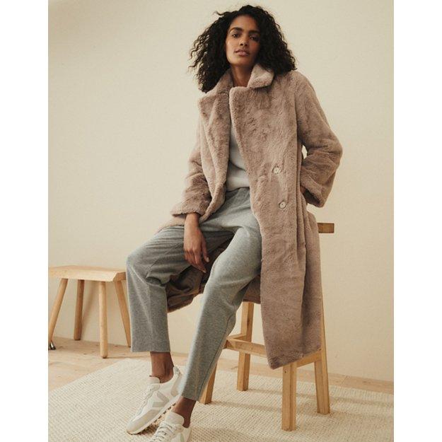 Long Faux Fur Coat Coats Jackets, Large Size Faux Fur Coats
