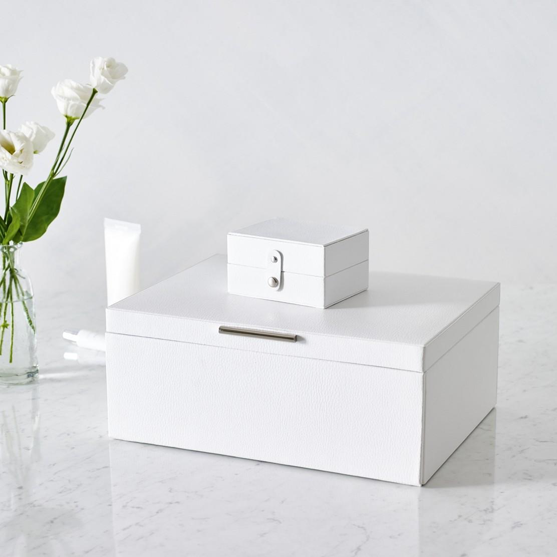 Luxury Leather Jewelry Box Home