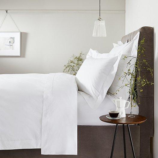 Luxury Savoy Oxford Pillowcase with Border - Single