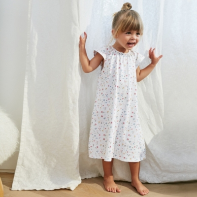 Meadow Print Nightdress (1-12yrs)