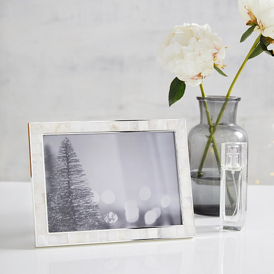 Mother Of Pearl Photo Frame 5x7 Photo Frames The White Company Uk