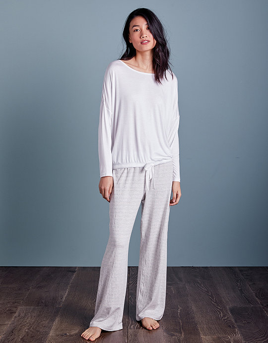 Added to bag. Checkout. Continue shopping. Back  The White Company ·  Clothing · Nightwear · Pyjamas  Metallic Stripe Tie Detail Pyjama Set 7825234fb