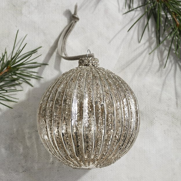 White Company Baubles