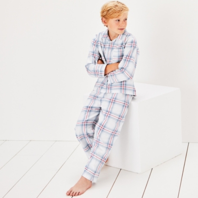 Nautical Check Pyjamas (1-12yrs)
