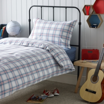 Nautical Check Bed Linen