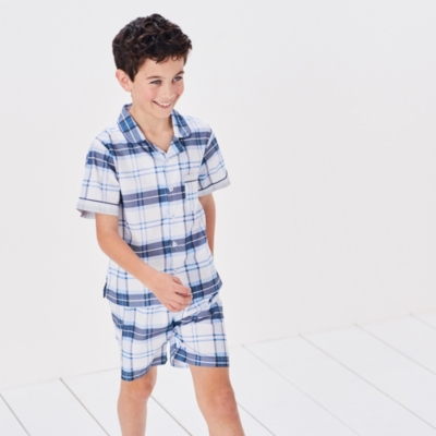 Nautical Check Pyjamas (1-12yrs)
