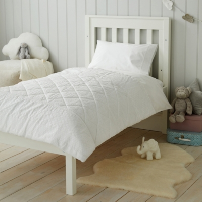 Perfect White Quilt