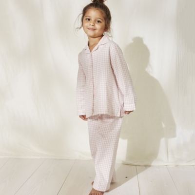 Gingham Flannel Pyjamas (1-12yrs)