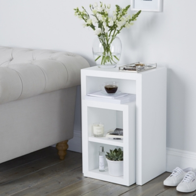 Pimlico Narrow Cube Nest Table - Set of 2