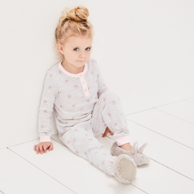 Pointelle Heart Pyjamas (1-12yrs)