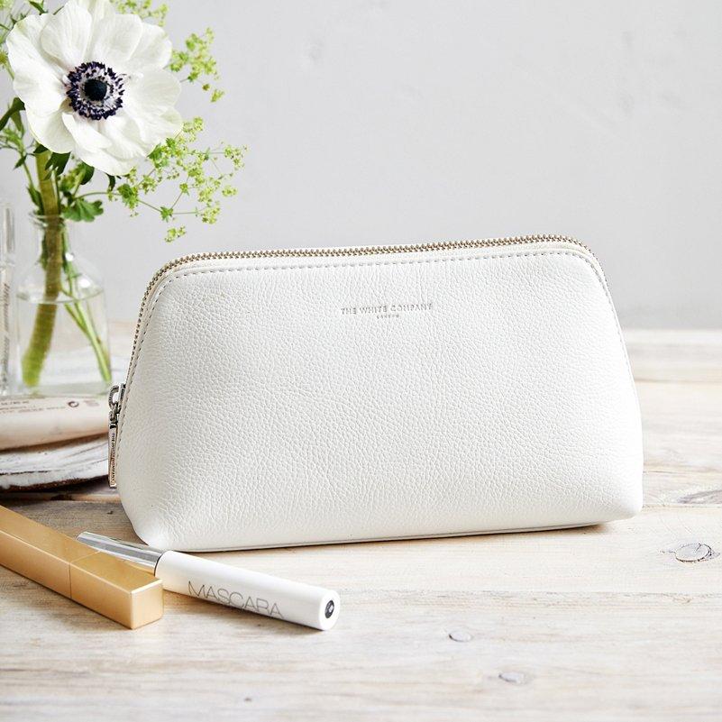 Pebblegrain Leather Make Up Bag