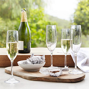 Picnic Champagne Flutes – Set of 4