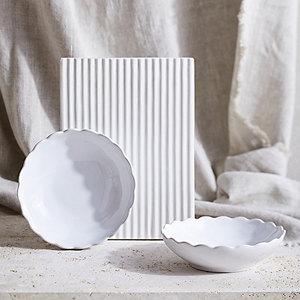 Portobello Scalloped Bowls - Set of 2