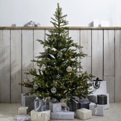 Pre Lit Grand Spruce Christmas Tree 6ft Christmas Trees The White Company Uk