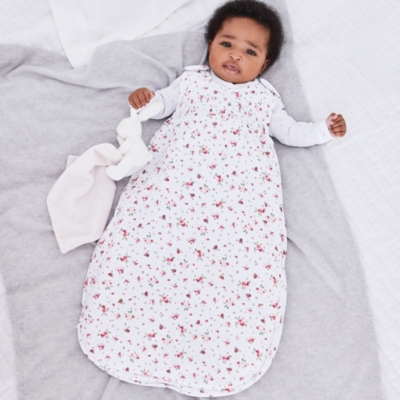 Winter Robin Print Sleeping Bag - 2.5 Tog