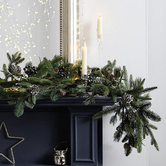 Rosemary Pinecone Christmas Garland