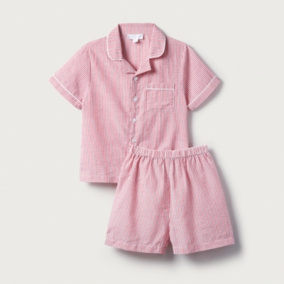 Seersucker Stripe Pyjamas (1-12yrs)