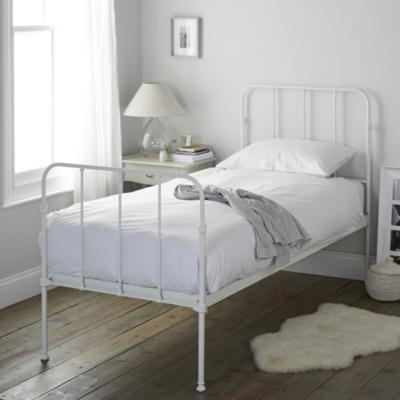 Stamford Single Bed - White