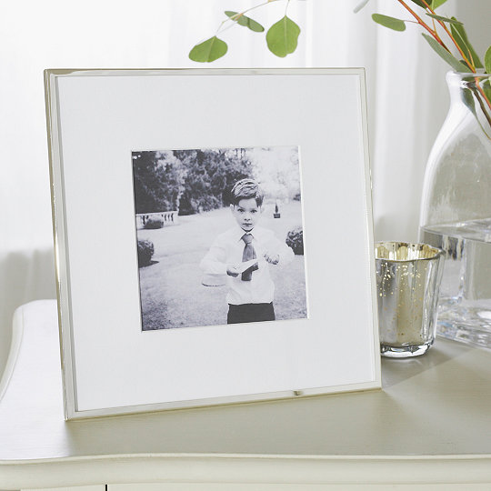 Fine Silver Photo Frame 5x5 Photo Frames The White Company Uk