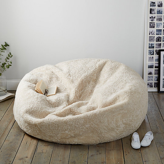 Sheepskin Family Beanbag  4354d12552138