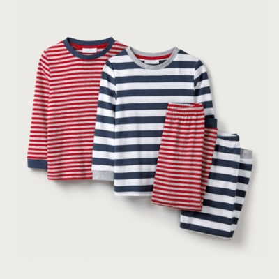 Stripe Mix & Match Pyjamas - Set of 2 (1-12yrs)