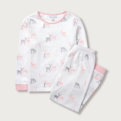 Sparkle Reindeer Pyjamas (1-12yrs)